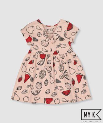 my k pink fruit dress