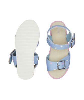denim star tread sandals
