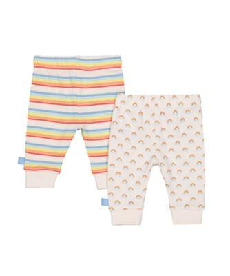 little bird rainbow leggings - 2 pack