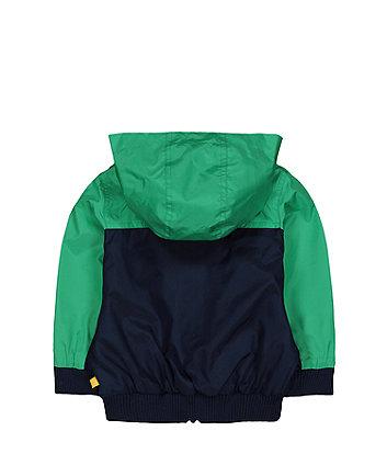little bird rainbow hooded jacket