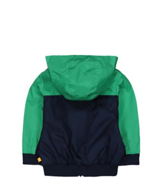 little bird rainbow hooded jacket