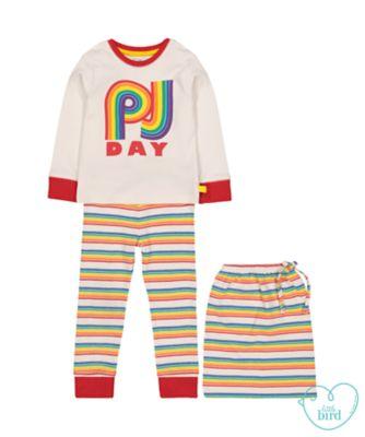 little bird pj day pyjamas