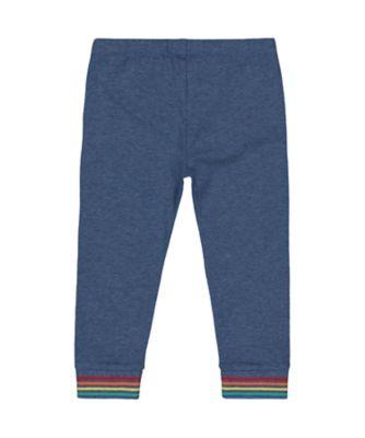 little bird rainbow leggings