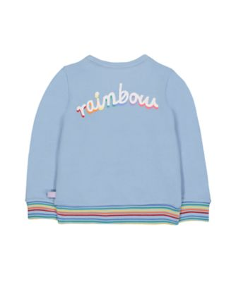little bird rainbow sweat top