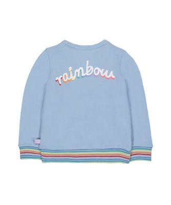 little bird rainbow sweat top
