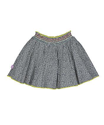 little bird floral skirt