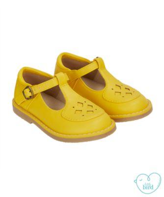 little bird yellow t-bar shoes