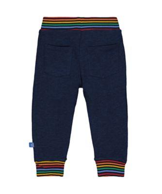 little bird navy rainbow joggers