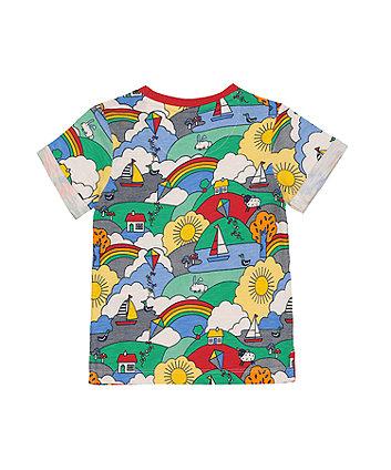 little bird playtime print t-shirt