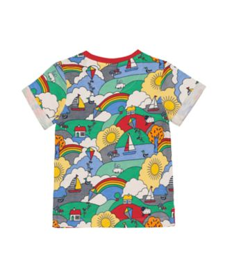 little bird playtime print t-shirt
