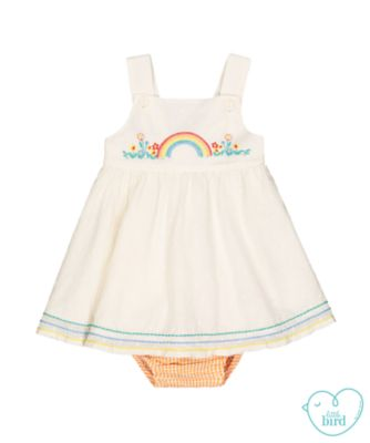 little bird dress and bloomers set