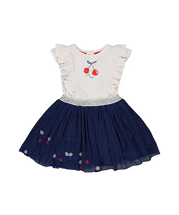 sweet cherry twofer dress