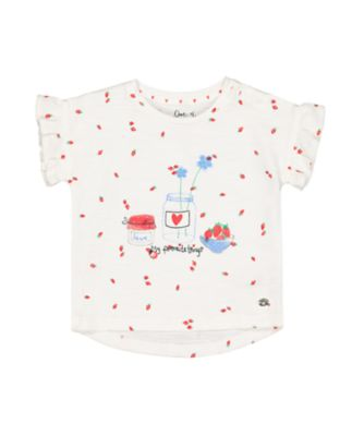 strawberry my favourite things t-shirt