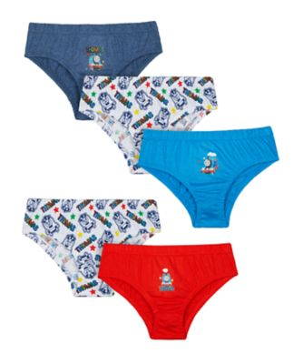 thomas the tank engine briefs - 5 pack