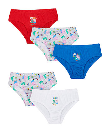 george pig briefs - 5 pack
