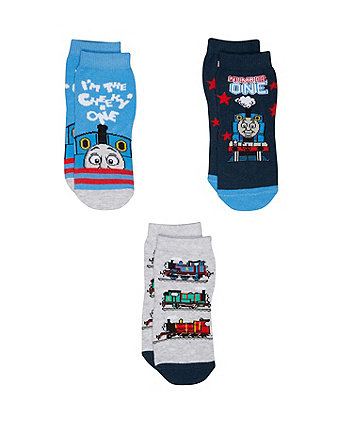 thomas the tank engine socks - 3 pack