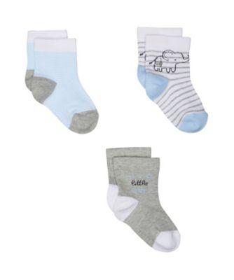 elephant socks - 3 pack