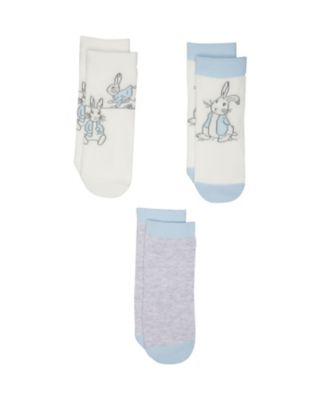 peter rabbit socks - 3 pack