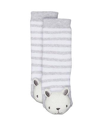 teddy rattle socks