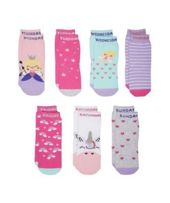 days of the week socks - 7 pack