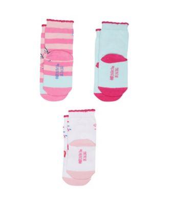 peppa pig socks - 3 pack