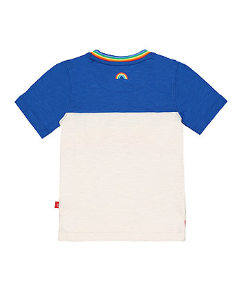 little bird rainbow stripes t-shirt