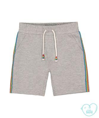 little bird grey jersey shorts