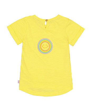 little bird yellow sunshine t-shirt