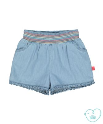 little bird chambray shorts
