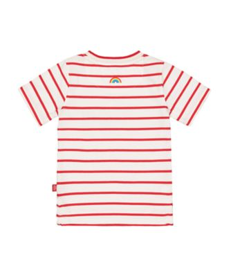 little bird striped sun t-shirt