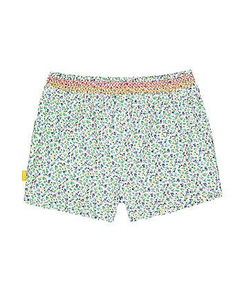 little bird floral shorts