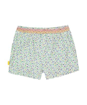 little bird floral shorts