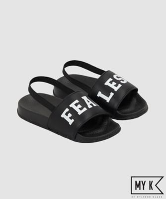 my k black fearless sliders