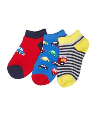 car trainer socks - 3 pack
