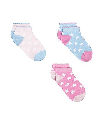 stars trainer socks - 3 pack