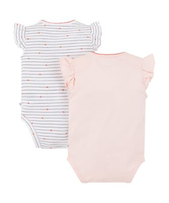 daddy's little star and heart bodysuits - 2 pack