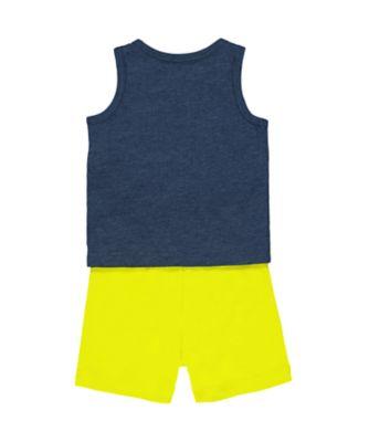 animal t-shirt and shorts set