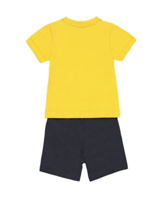 elephant t-shirt and shorts set