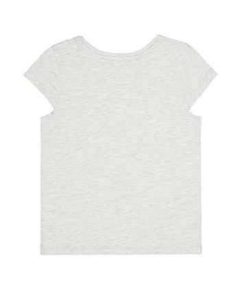grey i love you t-shirt