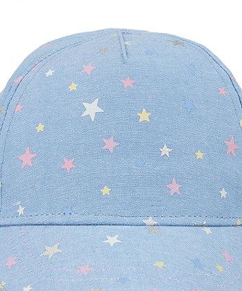 star print cap