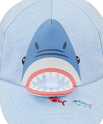 novelty shark cap