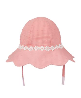 pink dobby sun hatpink dobby sun hat