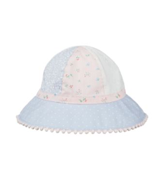 pretty patchwork sun hat
