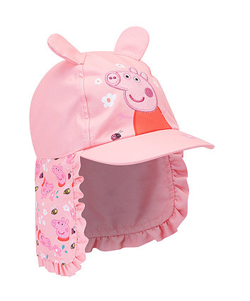 peppa pig sun protection keppi hat