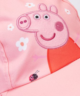 peppa pig sun protection keppi hat
