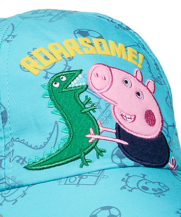 george pig sun protection keppi hat