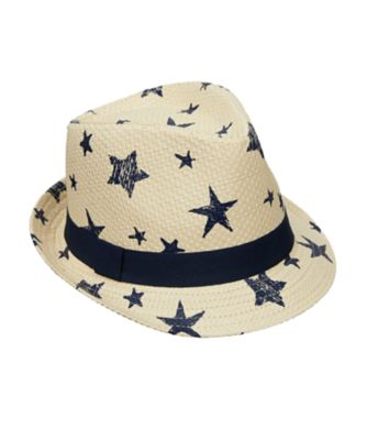 star trilby hat