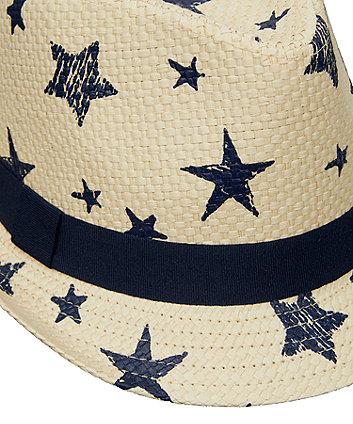 star trilby hat