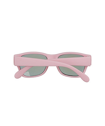 pink baby clubmaster sunglasses