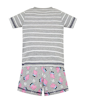george pig pirate shortie pyjamas